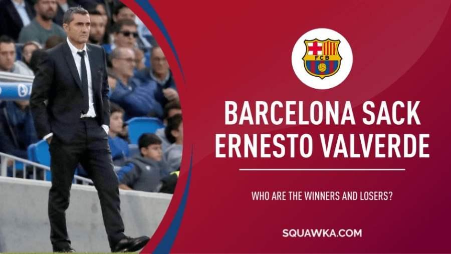 ERNESTO VALVERDE Barca: Valverde Digantikan Dengan Quique Setien