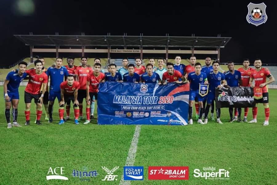 Svay Rieng FC 2 1 Tiga Wakil Elit Liga Super Tak Mampu Kalahkan Preah Khan Reach