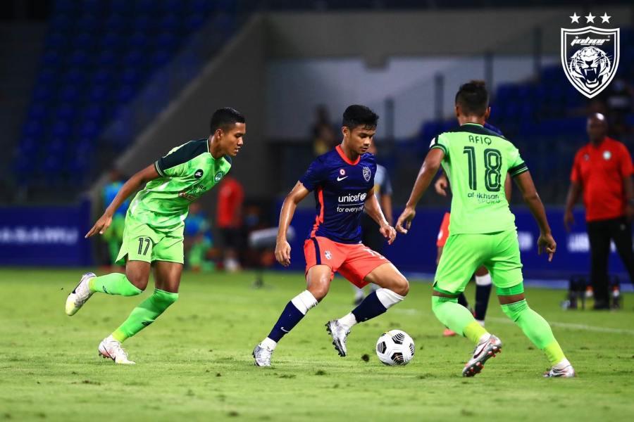 daniel amir jdt Johor Darul Ta'zim 3-0 Melaka United - Liga Super 2021