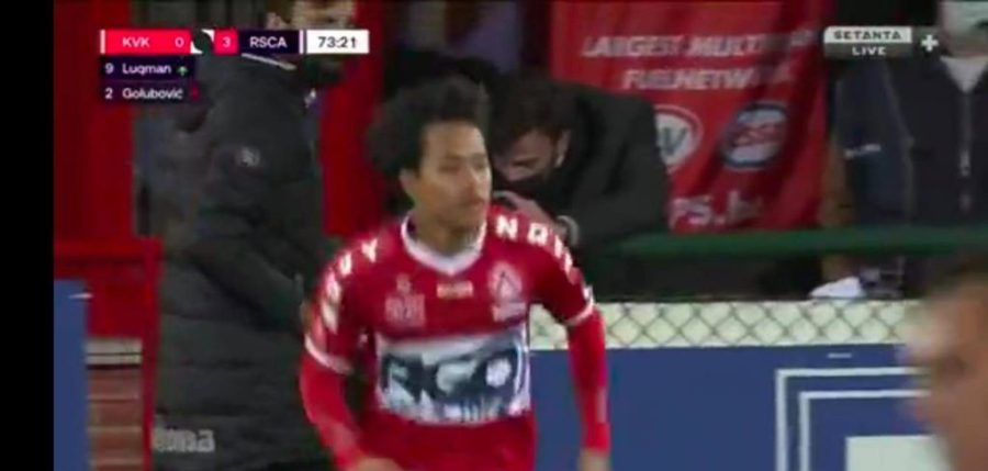 debut luqman kortrijk e1603485595671 Nilai Luqman Hakim Meningkat 200% Selepas Debut Jupiler Pro League
