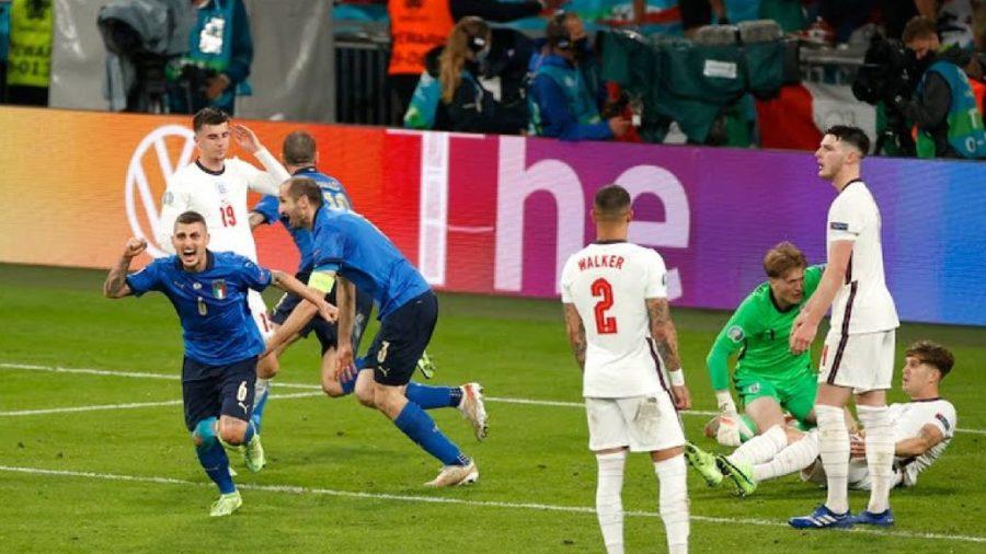 leonardo bonucci italy vs england Kemenangan England Ditangguhkan, Itali Menjuarai EURO 2020