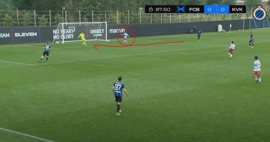 luqman club brugge 1 Analisa 5 Minit Luqman Hakim vs Club Brugge