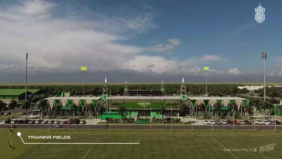 padang latihan kerteh fc Konsep Rekabentuk Stadium Kerteh FC Diperkenalkan