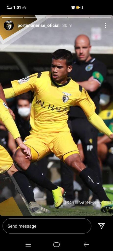 safawi ig portimonense Aksi Safawi Dalam Perlawanan Menentang Sporting SC Bawah 23 Tahun
