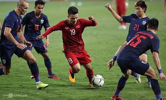 viet 1 Pemain Tengah Vietnam Akui Malaysia Bukan Lawan Mudah