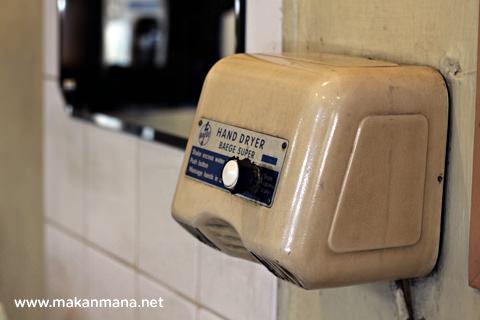 classic hand dryer