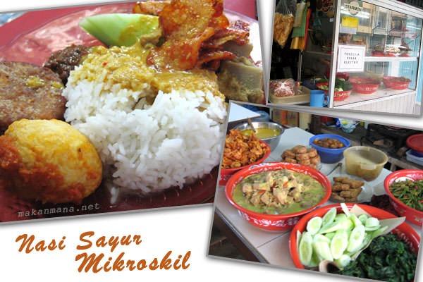Nasi Sayur Mikroskil 1