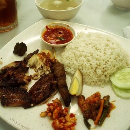 Nasi ayam Asen 1