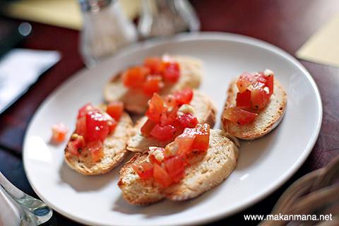 Bruschetta tomato