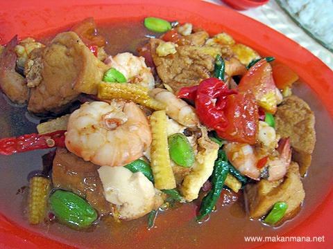 Chinese food Jalan Tilak 5
