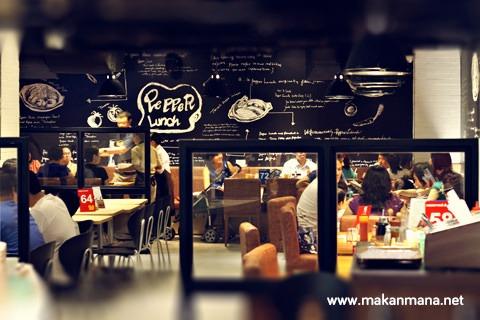 Pepper lunch, Cambridge Mal