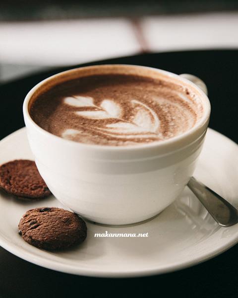 Coffee 45 cafe mocha