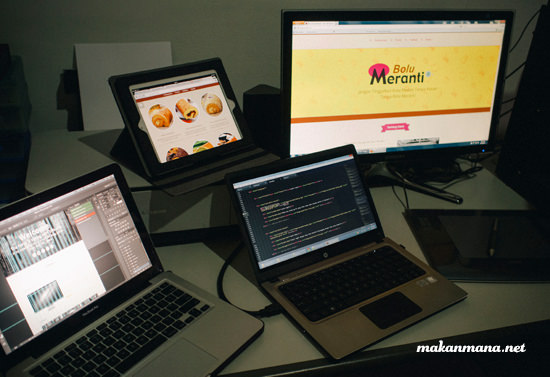 makanmana meranti workspace We are almost 6 years, and going...