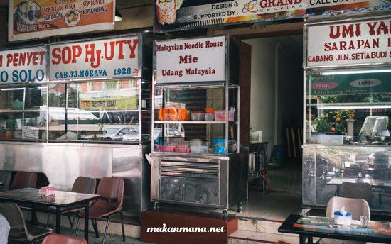 mie udang malaysia randy cafe medan