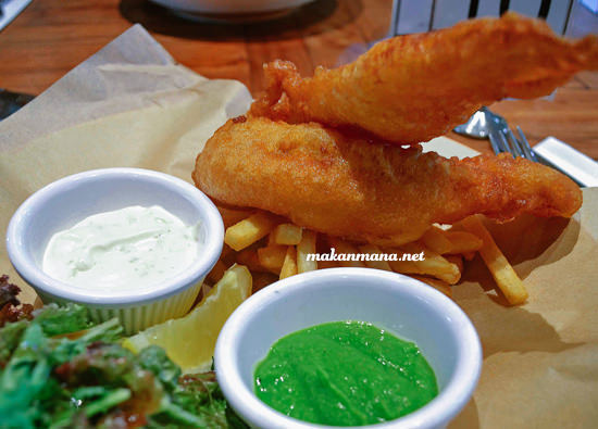 Hoegaarden battered fish & chips