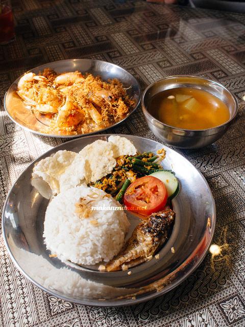 nasi udang tradisional Roemah Indonesian Kitchen
