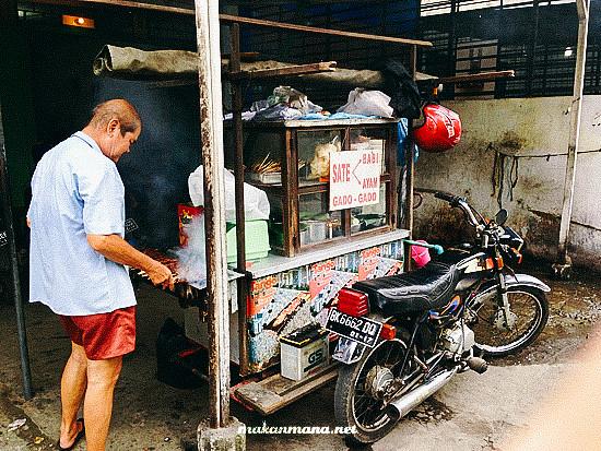sate gado gado yose rizal medan Sate Kacang & Gado gado, jalan Yose Rizal