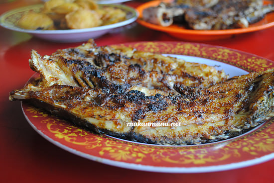 Ikan Gabus Merah Panggang