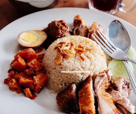 Nasi Ayam Apin, Jalan Sumatera 1