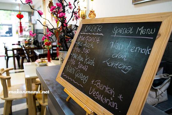 Berkah Vegetarian special menu Berkah Vegetarian, Jalan Serdang Ujung