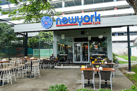 Makanmana new york cafe alamat