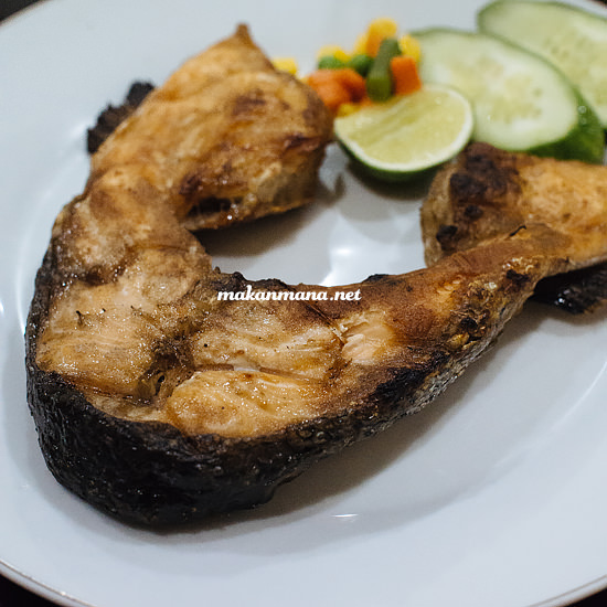 grilled leher salmon Rumah Makan Atlantic Salmon