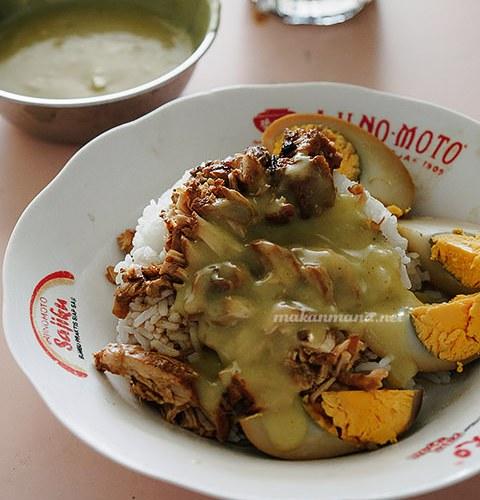 Nasi kari Bagan, Jalan Melaka 1