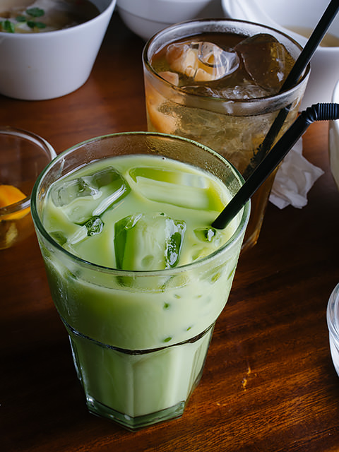 Thai Iced Green Tea