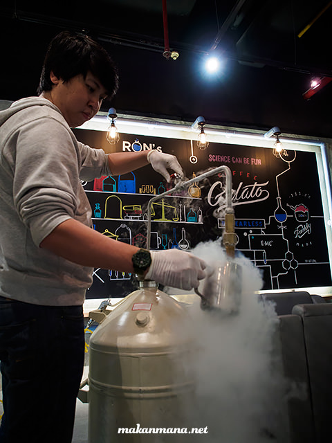 liquid nitrogen medan