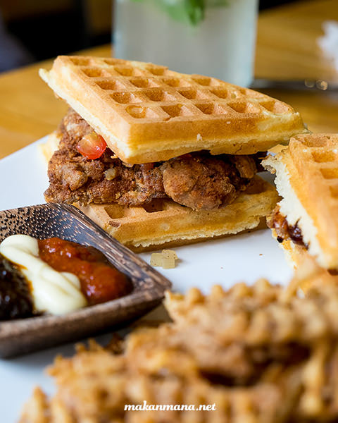 Waffle Fried Chicken