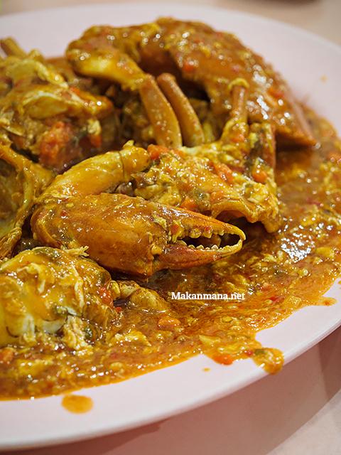 Kepiting Saos Padang (Betina 260rb/kg)