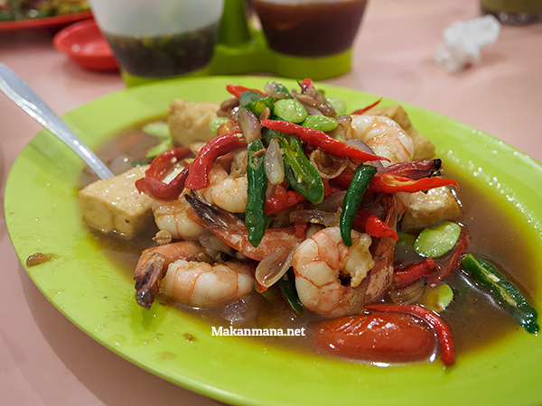 Tauco Udang (55rb)