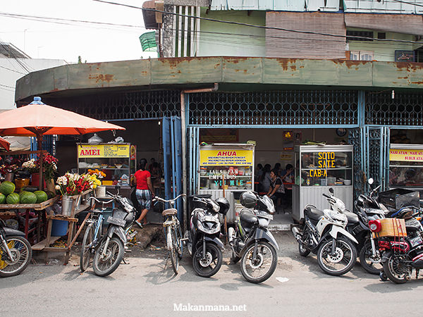 Nasi sayur Cina Padang, Pasar Beruang 2