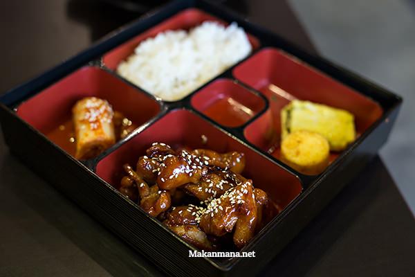 chicken teriyaki set menu