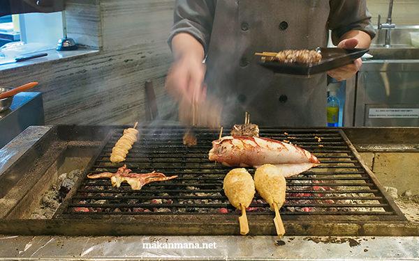japanese grill in medan
