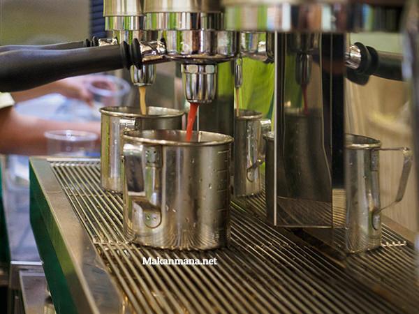 preso tea machine