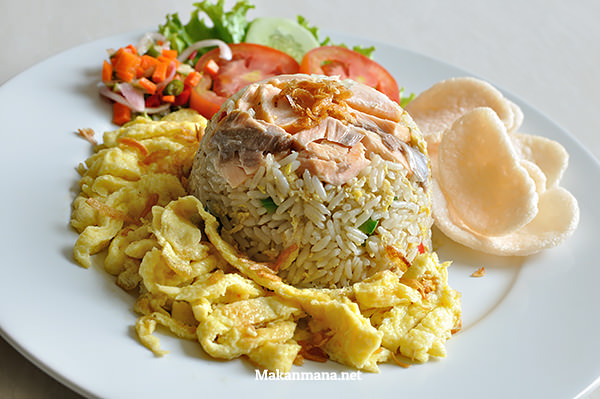 Salmon Fried Rice (45,7rb)