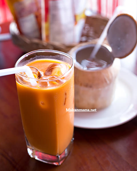 thai ice tea somtam thai