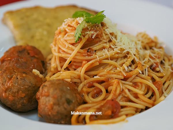 Spaghetti meatballs (30rb)