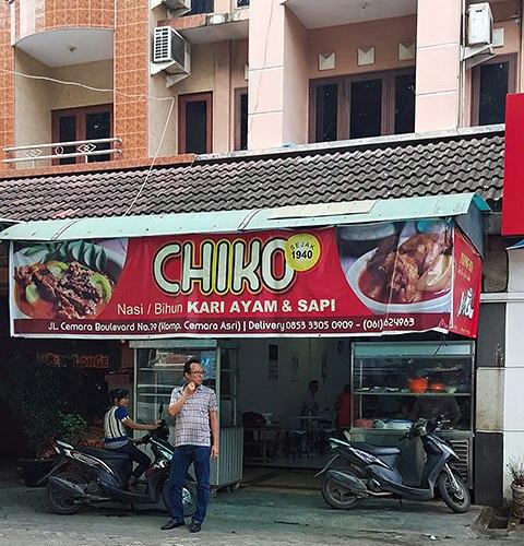 CHIKO Kari Ayam Dan Sapi, Cemara Asri 1