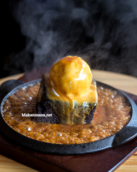 Sizzling Brownie