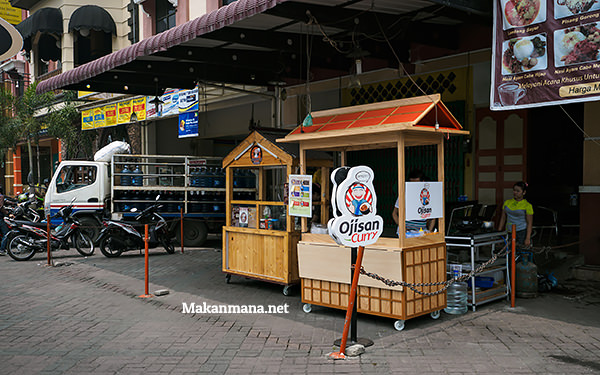 ojisan curry lokasi