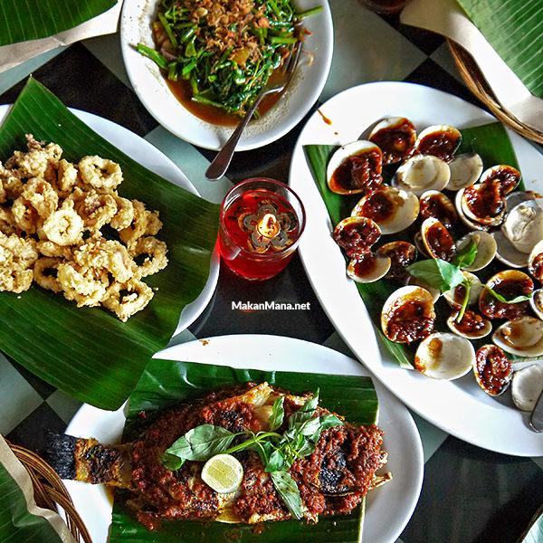 Jimabran seafood