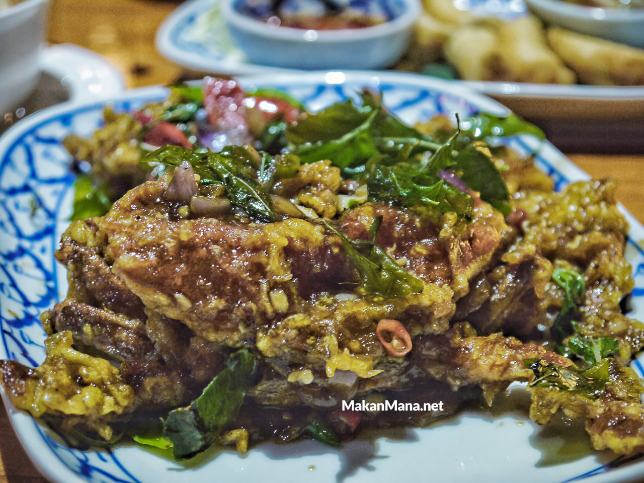 Jittlada Soft Shell Crab