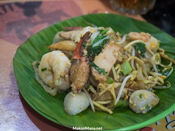 Mie campur kwetiaw goreng (30rb)