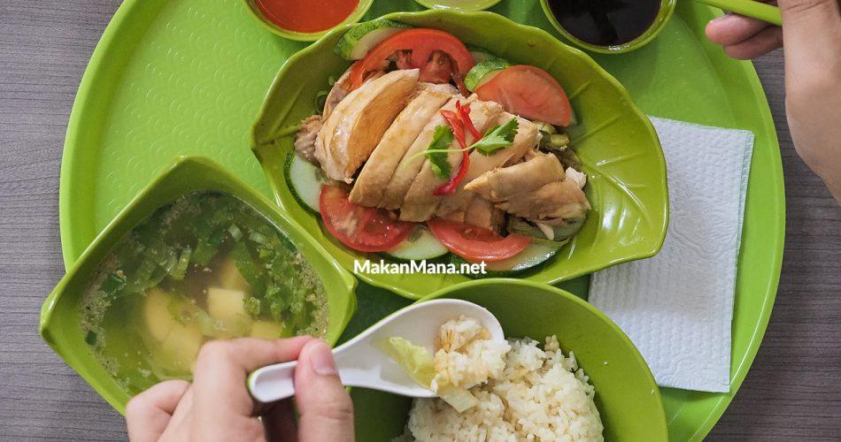 Nasi Ayam Hainan, menu kebanggaan dari Kedai Meneer Yongkie 1