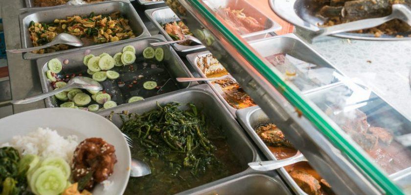 Rumah Makan Bukit Barisan Dalam, hidangan Economy Rice 1