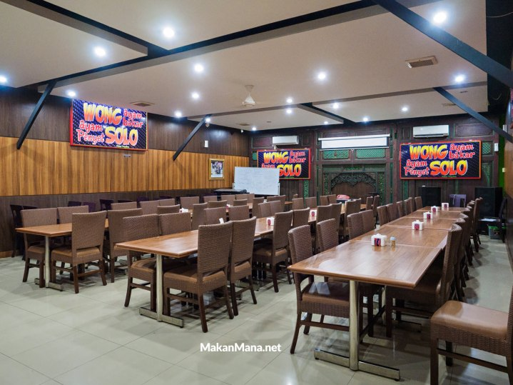 ruang makan vip ac wong solo