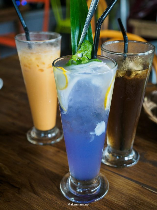 minuman di the garden cafe