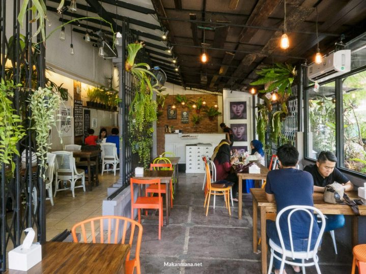 the garden cafe medan